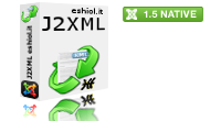 J2XML 1.5 is the ultimate solution to import/export content in Joomla! 1.5