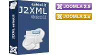 J2XML 3 is the ultimate solution to import/export content in Joomla! 2.5+